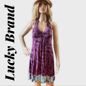 LUCKY BRAND Tie Dyed Coverup/Dress